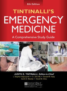 Book Cover: Tintinalli Emergency Medicine 8th Edition