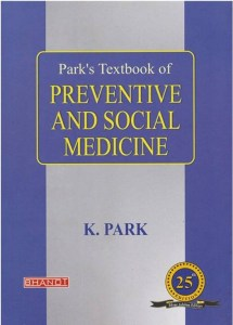 Book Cover: Park's Textbook of preventive and social medicine 25th edition