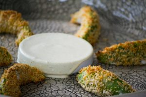 Avocado Fries with a Spicy Chipotle Dip