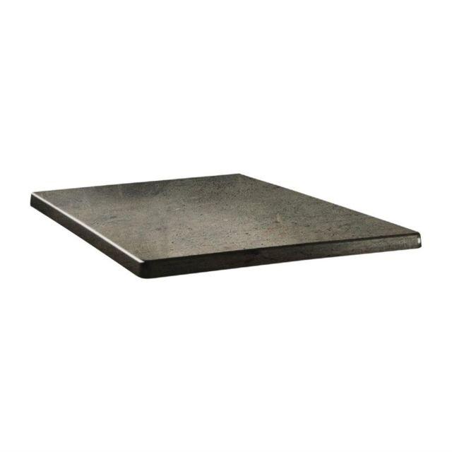 topalit plateau de table 60 x 60 blanc 120cm x 75cm x 120cm