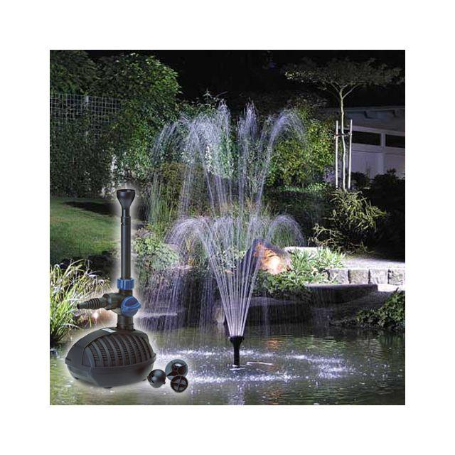 led blumfeldt fontaine 250 jets deau