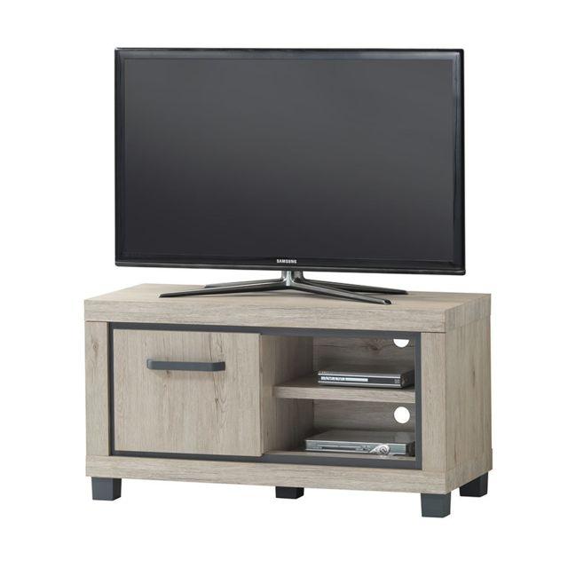 blanc 40cm x 120cm x 45cm bois mobilier