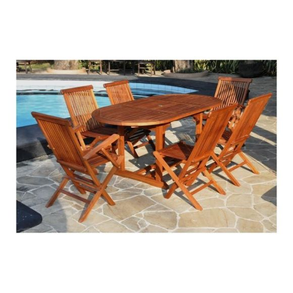 Awesome Table Jardin Teck Brighton Pictures - Awesome Interior Home ...