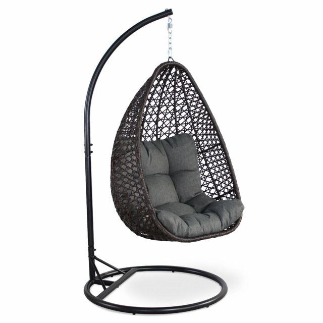 alice s garden fauteuil suspendu uovo loveuse suspendue en resine