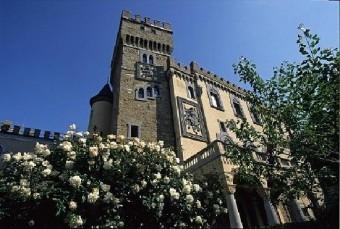 La sede principale dell'Osservatorio Astronomico di Trieste