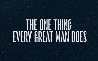 Sunday Worship   The One Thing Every Man Does   Father's Day   Pastor Eric Holmstrom