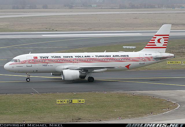 THY ilk retro boyamasını Airbus A320 tipi TC-JLC tescilli uçağa yapmıştı. Bu uçak büyük ilgi çekmişti.