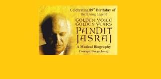 image pandit jasraj golden voice golden years concert mumbai 15 march mediabrief
