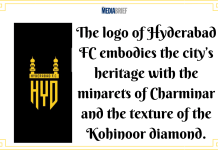 image-ISL Franchise Hyderabad Football Club unveils its logo Mediabrief