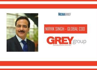 image-Nirvik Singh named Global COO GREY Group - MediaBrief