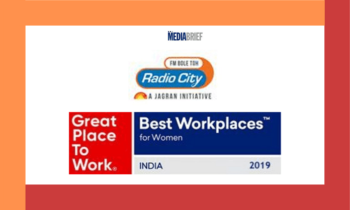 image-radio city India's Best Workplaces for Women – 2019 Mediabrief