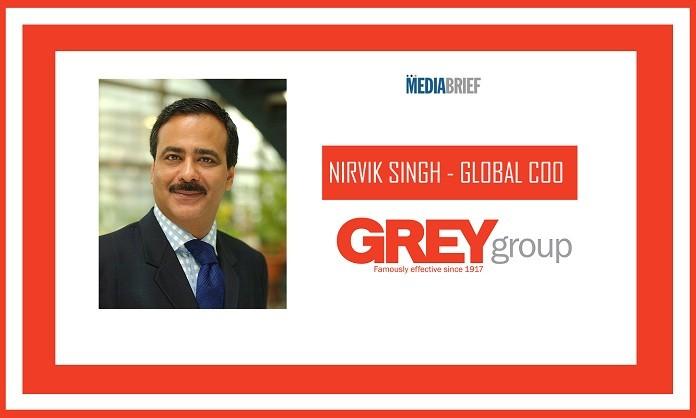 image-inpost-Nirvik Singh named Global COO GREY Group - MediaBrief
