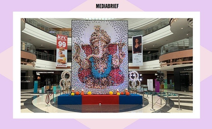 image-inpost-more-than-10800-bottles Ganpati Idol Seawoods Grand Central SGC Mall MediaBrief-1