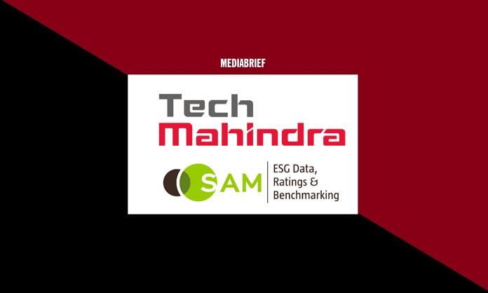 image-tech mahindra as leader djsi 2019 5th year Mediabrief