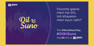image-World Heart Day, Gaana aware about heart health with #DilKiSuno Mediabrief