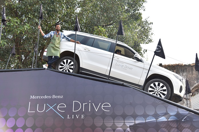 Mercedes-Benz Luxe Drive Live Mumbai - Picture 04
