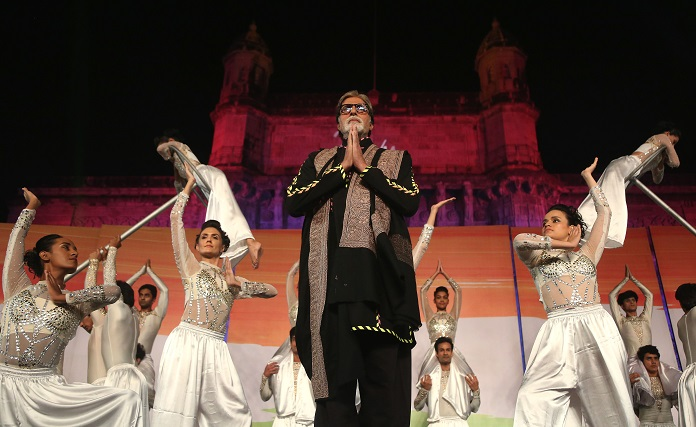 performance by superstar Amitabh Bachchan