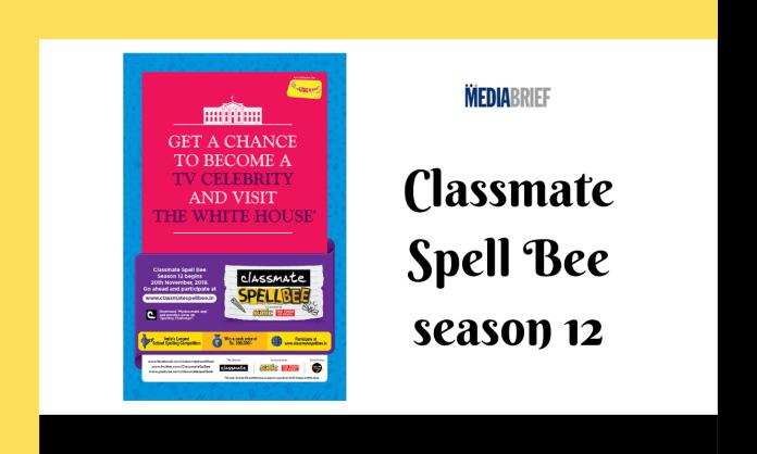 image-12th Season of Classmate Spell Bee returns to Indian schools Mediabrief