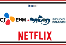 image-CJ ENM-Studio Dragon-Netflix announce a long-term partnership Mediabrief