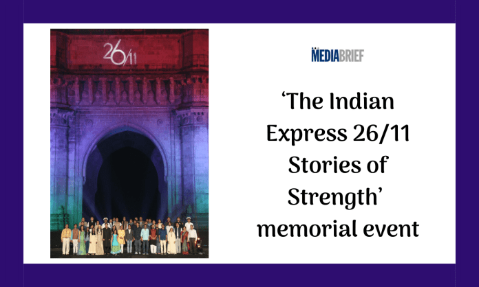 image-Rajnath Singh at Indian Express 26-11 memorial event Mediabrief