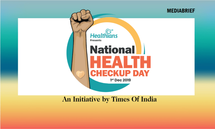 image-Times of India & Healthians celebrate National Health Check-up Day Mediabrief
