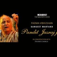 PODCAST: Sangeet Martand Pandit Jasraj ji, on The Master's Voice
