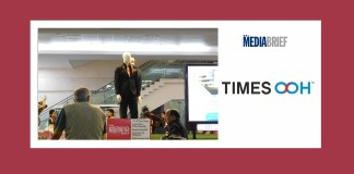 image-Times OOH showcases Raymond at Indore International Airport MediaBrief