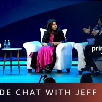 Jeff Bezos gets candid in a fireside chat with Shah Rukh Khan and Zoya Akhtar (Video)