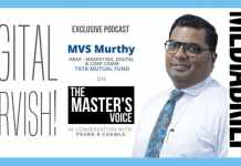 image-for post MVS Murthy of Tata Mutual Fund with Pavan R Chawla on The Masterk's Voice Ep 19 MediaBrief dot com