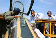 Photo of CAS inspects ongoing maintenance of Alpha Jets,others in Kainji