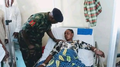 Photo of NYSC DG condoles deceased families, visits injured ones in hospital