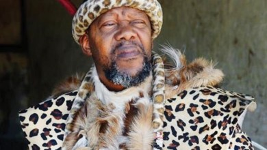 Photo of Chief Ndiweni expelled from his throne