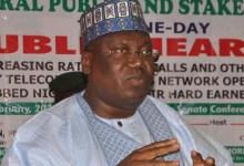 Photo of Lawan decries fleecing of Nigerians hard earned money to drop calls