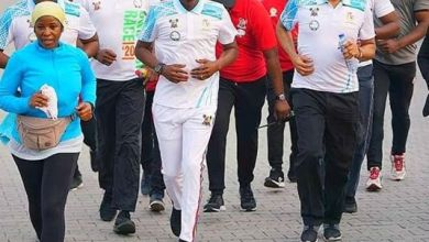 Photo of Sanwo-Olu joins Lagosians in 2020 Lagos City Marathon