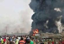 Photo of Lagos Explosion: Buhari send profound sympathises to victims, families