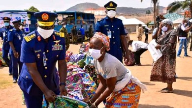 Photo of NAF @56: NAF distributes food items, other palliatives in Abuja