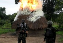 Photo of Nigerian troops raids Gana's hideout, wanted criminal in Benue