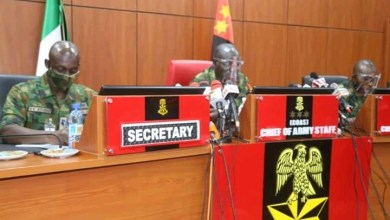 Photo of Insecurity: Criminals must be flushed out- COAS charges officers