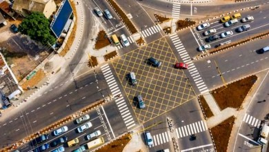 Photo of Allen Avenue roundabout wears new look in Lagos