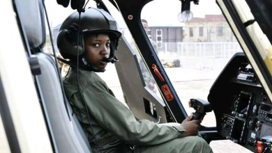 Photo of NAF loses first female combat pilot, Arotile to road accident