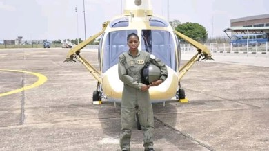 Photo of Buhari mourns Nigeria first female combat pilot, Tolulope Arotile