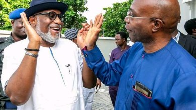 Photo of Ondo 2020: Akeredolu Receives Boost, As Segun Abraham Stepped Down