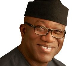 Photo of Governor Fayemi tests positive for Covid-19