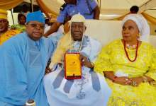"Photo of ""I Am Inspired By Kábíyèsí's Love"" – Tegbe Congratulates Olubadan @92"