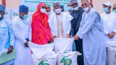 Photo of COVID-19: FG receives 3,999 tonnes of cereals from ECOWAS