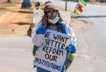 Photo of Zimbabwean Lives Matter campaign put the country under spotlight