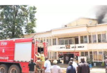 Photo of Fire destroys Kisii county assembly offices