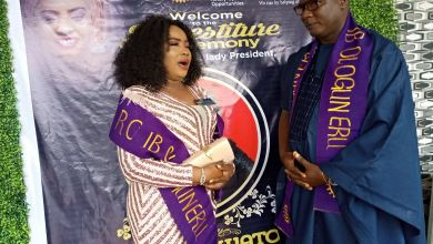 Photo of Rotary Int'l Installs New Female President In Ibadan-Ologuneru Branch