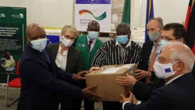 Photo of COVID-19: Africa CDC receives 1.4m test kits from Germany