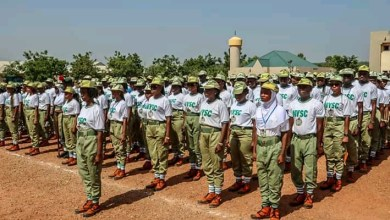 Photo of NYSC commences Orientation course nationwide Nov 10